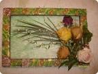 Картины из сухоцветов своими руками мастер класс