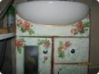 Декор предметов Декупаж: Преображение ванной комнаты Клей, Краска...