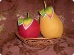Поделка яблоко из ниток своими руками 52