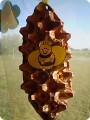 Поделка пчелка в сотах