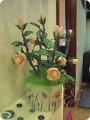Поделка изделие Бисероплетение Кустовая роза Бисер фото 1.