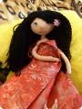 Куклы Шитьё: Тыквоголовка Ткань.