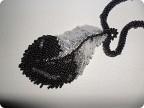 Украшение Вышивка: Перо Финиста-ясного сокола Бисер.  Фото 1.