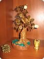 Денежное дерево из бисера - это прекрасное онлайн видео, из которого вы дерево из бисера (обучающий урок) - Цветы из...