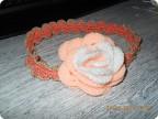 Вязание крючком: Повязка на голову для девочки.
