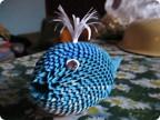 2. Техника: Оригами модульное 1. Это кит.  Навеяно чьей-то работой, так что спасибо автору!