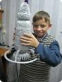 Ракета на день космонавтики.