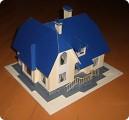Моделирование - Двухэтажный коттедж.