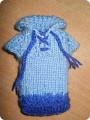Чехол для телефона свитер Вязание спицами.