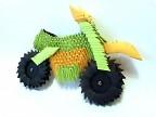 Модульное оригами - мотоцикл-3.