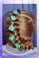 Декор предметов Лепка Шпильки для волос Пластика фото 1.