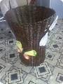 Декор предметов Плетение: А бабочка крылышками бяк-бяк-бяк-бяк Бумага...