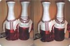 Декупаж бутылки с фото казачий курень мастер класс