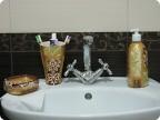 Бутылка для мыла своими руками