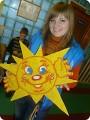 Сделать поделку солнце