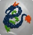Объмный дракончик из бисера сделала вот по этому МК httpstranamasterovrunode268451cfavusers.