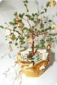 Cделали такое деревце для подруги.  Пусть этот талисманчик притягивает денежки )Веточки для дерева с удовольствием...
