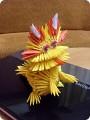 Мастер-класс Новый год Оригами китайское модульное Мой Дракон МК Дракончика Бумага фото 1.