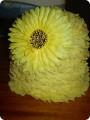 Шляпа цветок своими руками из бумаги мастер класс