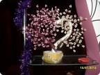 Если вам есть, что мне написать, пишите Источник. дерево из бисера (мужу на деньСв.Валентина) Бисероплетение.