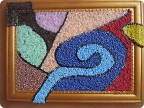 Картина панно рисунок Мозаика Картина из бисера Бисер фото 1.