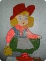 Поделка в сад красная шапочка 81
