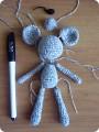 Вязание крючком - Амигуруми Мышонок.
