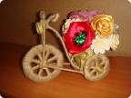 Велосипед из бисера своими руками 91