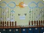 Оформление стен в раздевалке в детском саду своими руками