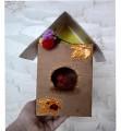 Как сделать из коробки из под сока скворечник