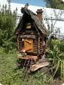 Как сделать домик для бабы яги своими руками на даче
