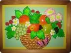 Овощи и фрукты своими руками из соленого теста