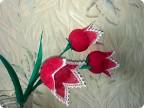 Тюльпан своими руками из проволоки