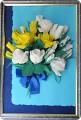 Аппликации цветов из гофрированной бумаги своими руками 91