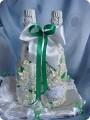 Как просто украсить шампанское на свадьбу своими руками