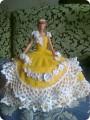 14 июл 2014 Вязаные крючком платья на куклу Барби. .  Вязание крючком игруше.