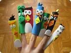 Как сделать поделки на пальцы