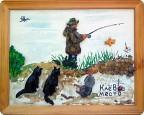 творчество на тему рыбалка