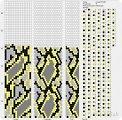Схем вязания крючком жгутов на 9-10 бисерин / Вязание с. Images for жгуты из бисера крючком схемы.