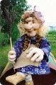 Ярмарка мастеров - ручная работа бабулька ягулька с совой