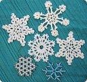 Вязаная снежинка своими руками