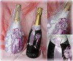 Свадебное шампанское своими руками жених невеста