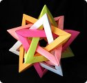 Поделки из бумаги тетраэдр оригами 41