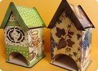 Делаем подарки сами: чайный домик своими руками
