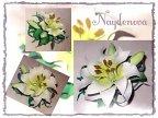 Оригами цветок лилия из бумаги пошаговая инструкция 19