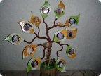 Семейное дерево своими руками из подручных материалов
