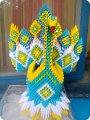 Модульное оригами царевна лебедь с схемой сборки