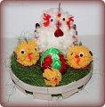 Цыпленок из ниток к пасхе своими руками 69