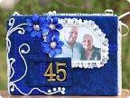 Подарки своими руками на сапфировую свадьбу 378