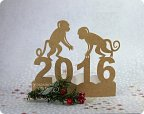 Символы нового года своими руками из бумаги